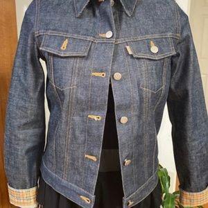 Burberry London Blue Label Denim Jacket